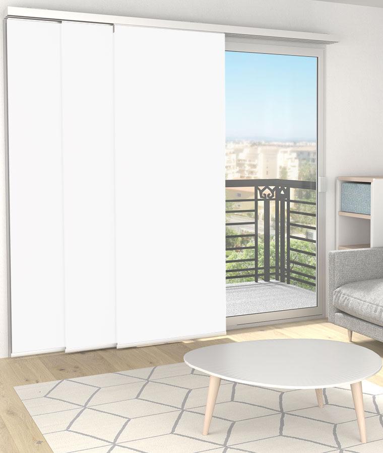 panneau japonais rideau japonais sur mesure stores. Black Bedroom Furniture Sets. Home Design Ideas