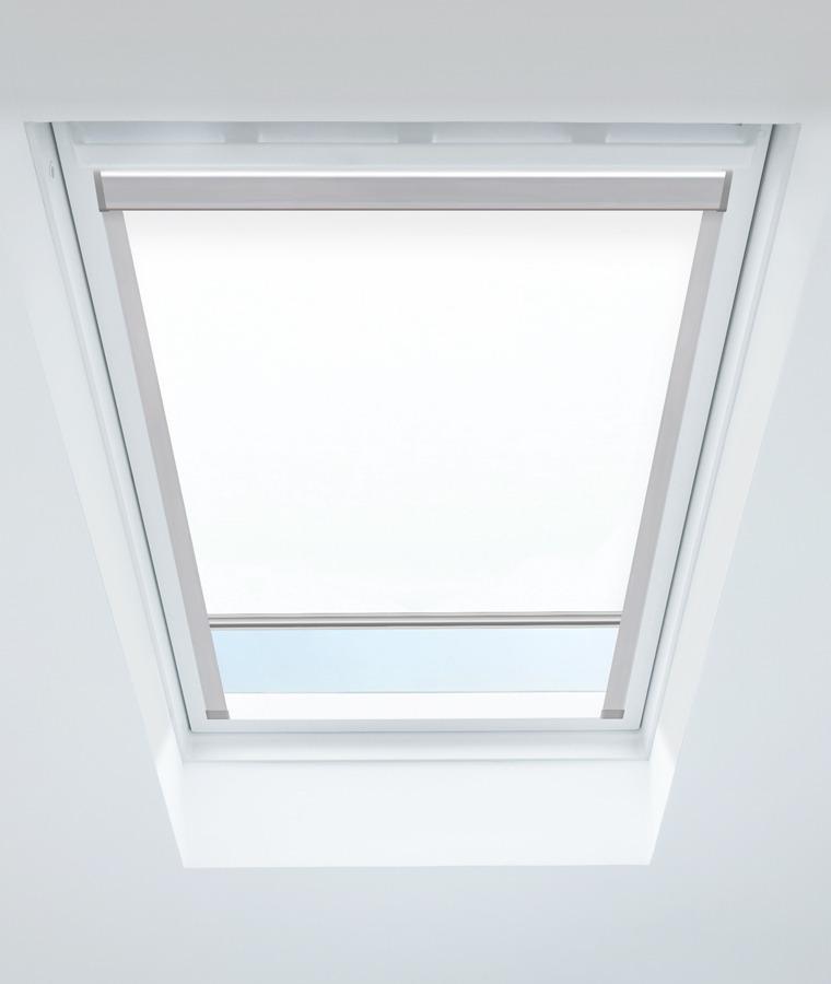 Store fenetre de toit blanc 1