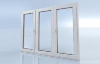 Porte fenêtre 3 vantaux